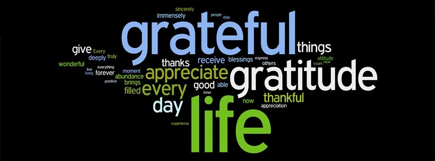 HOW TO BE GRATEFUL FOR WHAT YOU HAVE