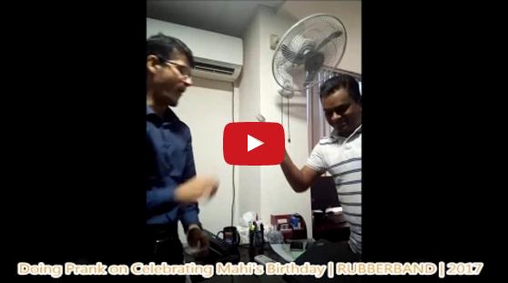 Birthday Boy Caught on Prank | Celebrating Mahi's Birthday 2017